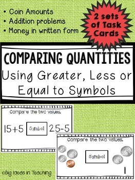Comparing Money and Numbers
