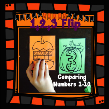 Comparing Numbers 1-10 - Halloween Theme