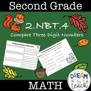 Comparing Three-Digit Numbers 2.NBT.4