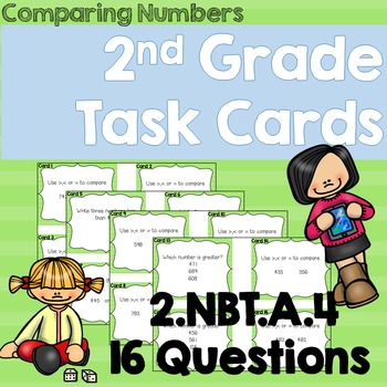 Comparing Numbers- 2nd Grade 2.NBT.A.4