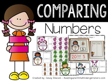 Comparing Numbers Mega BUNDLE! (Common Core and Texas TEKS