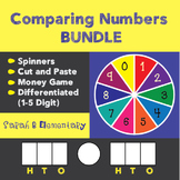Comparing Numbers (Differentiated: 1-7 Digit)