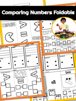 Comparing Numbers Foldable