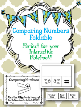 Comparing Numbers Foldable. Greater Than. Less Than. Inter