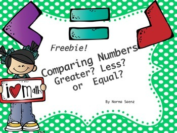 Comparing Numbers - Greater? Less? or Equal?