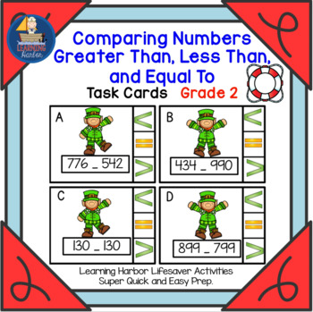 Comparing Numbers Greater Than, Less Than, and Equal To