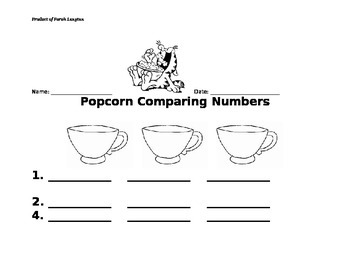 Comparing Numbers, Ordering Numbers, Envision Math 2-4, Le