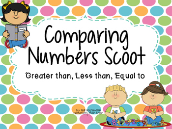Comparing Numbers Write the Room (Greater Than, Less Than,