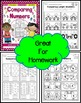 Comparing Numbers for Kinders Practice Printables
