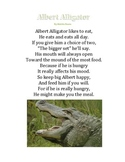 Comparing Numbers with Albert Alligator (greater than/ less than)