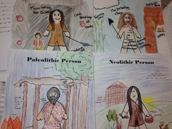 Comparing Paleolithic and Neolithic