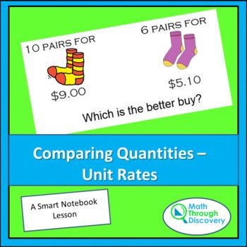 Comparing Quantities - Unit Rates