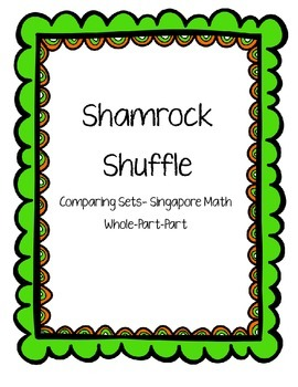 Comparing Sets Subtraction--Shamrock Shuffle