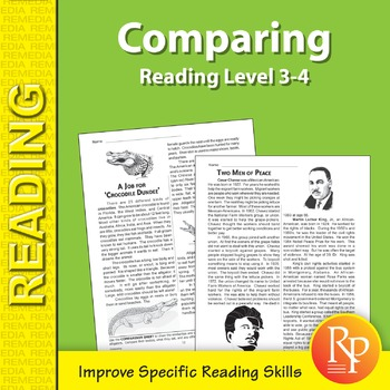 Comparing: Specific Reading Skills Activities