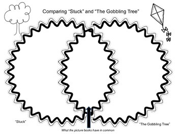 """Comparing """"Stuck"""" and """"The Gobbling Tree"""" freebie"""