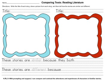 Comparing Text