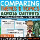 Comparing Themes & Topics Across Cultures