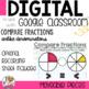 Comparing Unlike Fractions Digital Task Cards for Google C