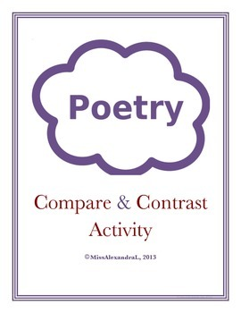 Comparing and Contrasting Poems