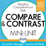 Compare and Contrast Passages and Worksheets for Comparing