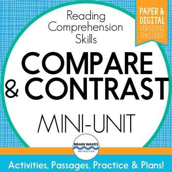 Compare and Contrast Unit:  Reading Comp. Mini-Unit on Com