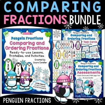 Comparing and Ordering Fractions Bundle