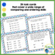 Comparing and Ordering Numbers Task Cards ~Aligned with Ne