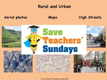 Comparing rural and urban / town and country areas Plan, P