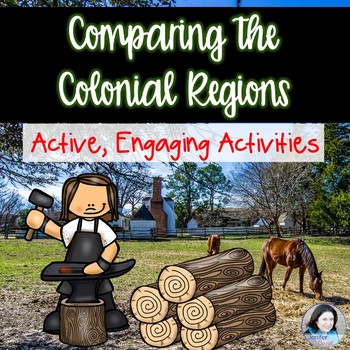 Comparing the Colonial Regions Activity Pack
