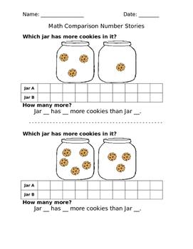 Comparison Number Stories