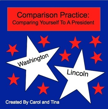 Comparison Practice-Comparing Yourself to a President: Mor
