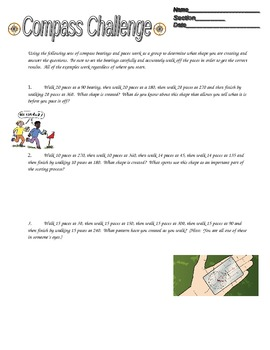 Compass Challenge -- Orienteering Activity