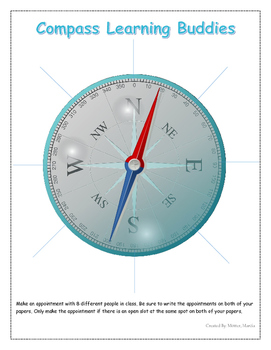 Compass Clock Buddies