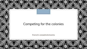 Competing for the Colonies