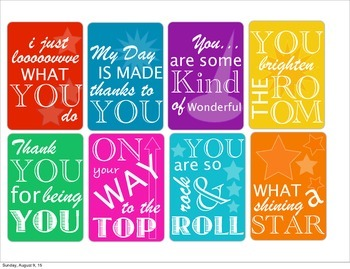 Complement Cards