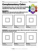 Complementary Color Worksheet