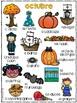Completa el cuento - octubre (October - Bilingual)