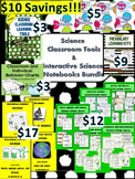 Interactive Notebook Bundle with Science Class Learning Tools