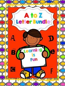 Complete A to Z Letter Bundle--Great for the Beginning of