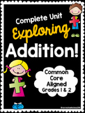 Complete Addition Unit: Foldables, Activities, Assessments