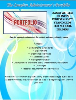 Complete Administrative PORTFOLIO - ALL 33 Components of 6