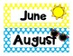 Complete Calendar Set - Polka Dot