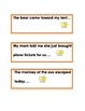 Cause and Effect with Writing Prompt Task Cards and Graphi