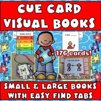 Complete Cue Card MEGA Set: Visual Behavior Tool Book for Autism
