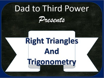 Complete Geometry Unit on Right triangles and trigonometry