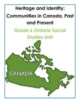 Complete Grade 6 Ontario Social Studies Inquiry-Based Unit