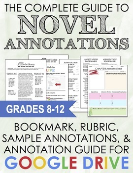 Complete Guide to Novel Annotations - ANY TEXT