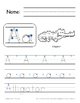 Complete Handwriting Alphabet