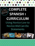 "Full Year ""I Can"" Spanish 1 IPA-Style Curriculum"