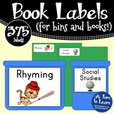 Complete Library Organization - Labels for Your Bins and Y